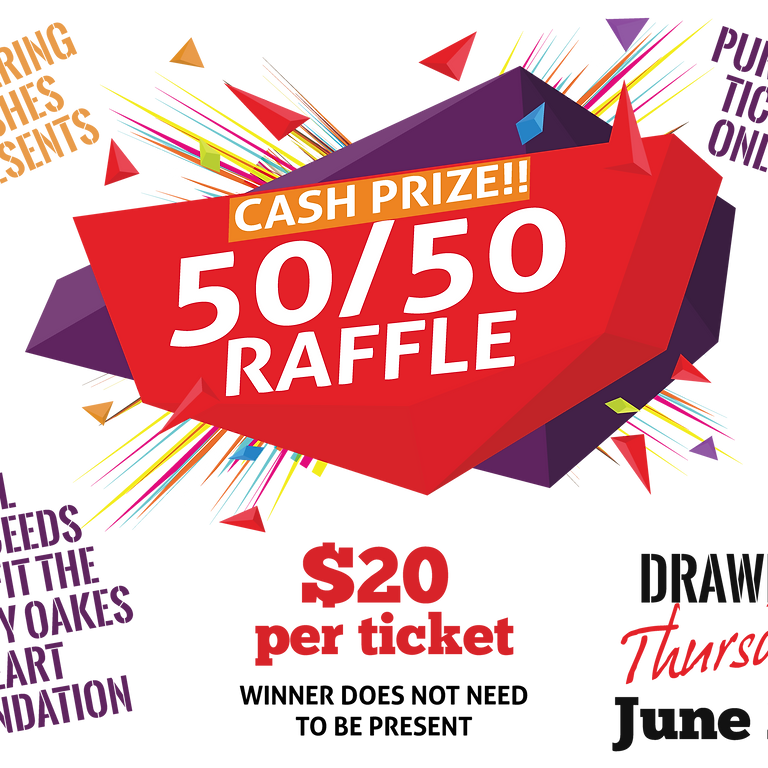 50/50 RAFFLE - EXTENDED