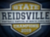 2019 Varsity Rams State Champ Banner pic