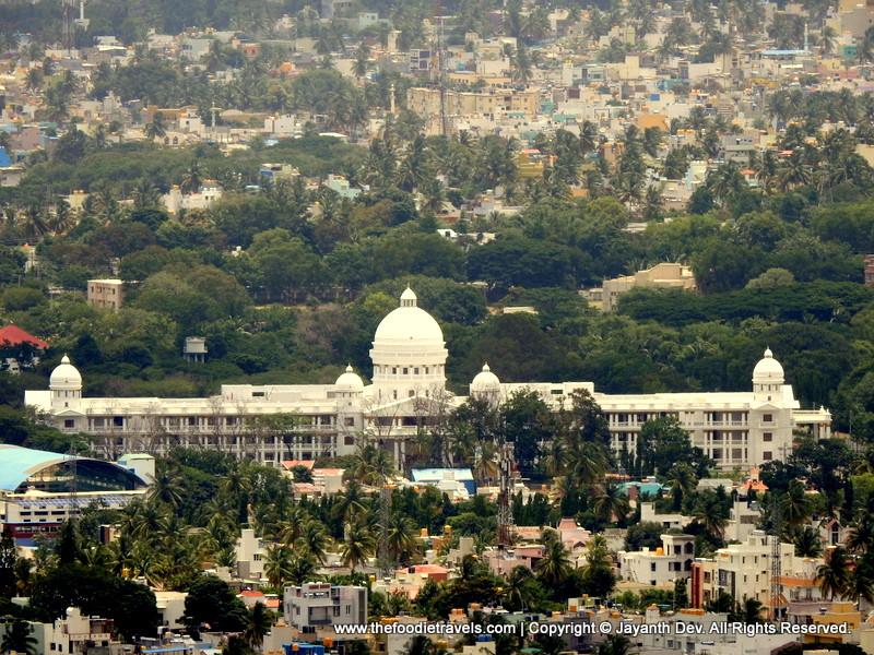 Lalitha Mahal Palace View from Chamundi Hills