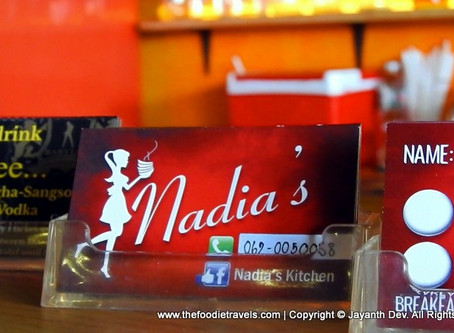 A Review of Nadia's Kitchen in Pattaya, Thailand