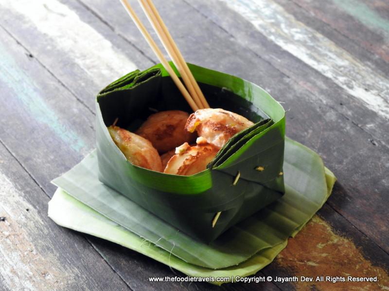 Coconut Pan Cake, Pattaya