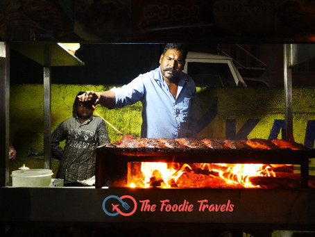 Madhan Fish Tawa Fry Review   Bangalore's Unique Street Food