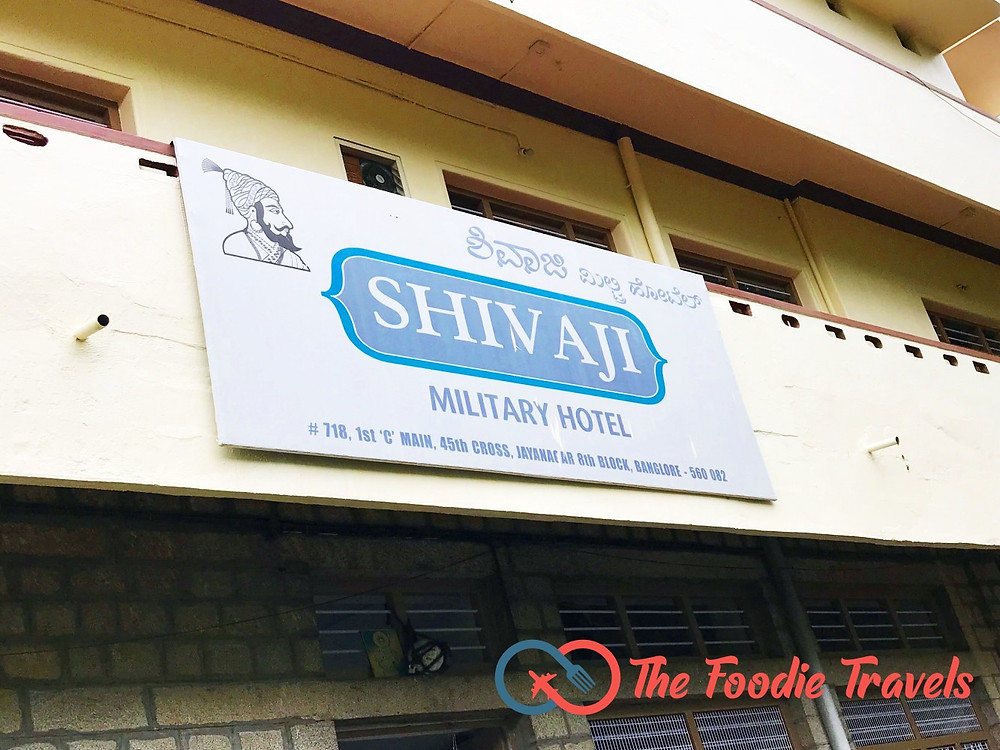 Shivaji Military Hotel, Jayanagar, Bangalore