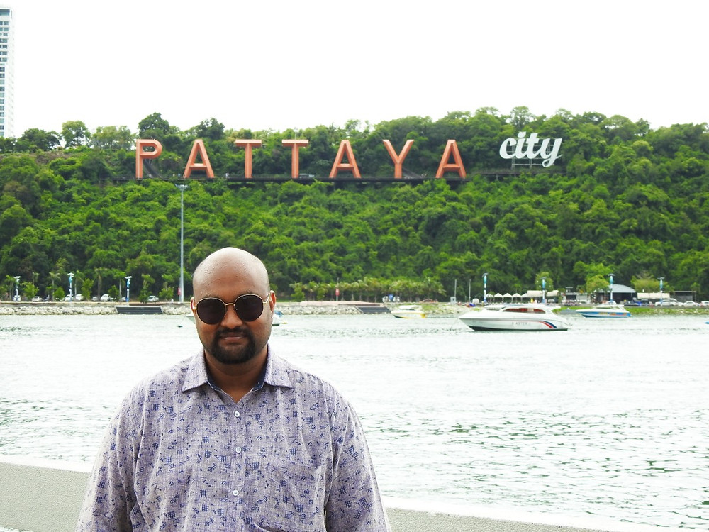Jayanth Dev aka Guruji Foodie at Pattaya