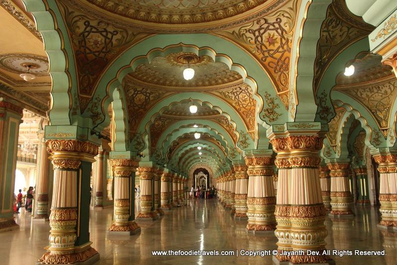 Mysore Palace Interiors