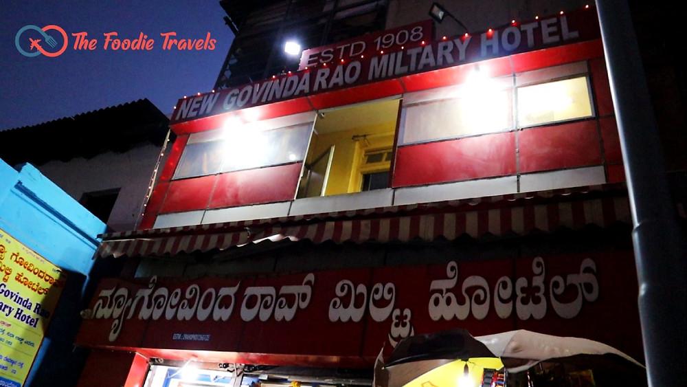 New Govinda Rao Military Hotel Review