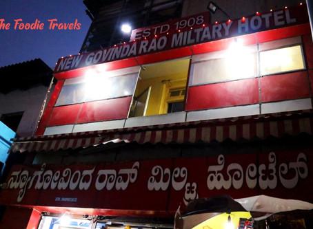 New Govinda Rao Military Hotel Review | Bangalore's Oldest Restaurant