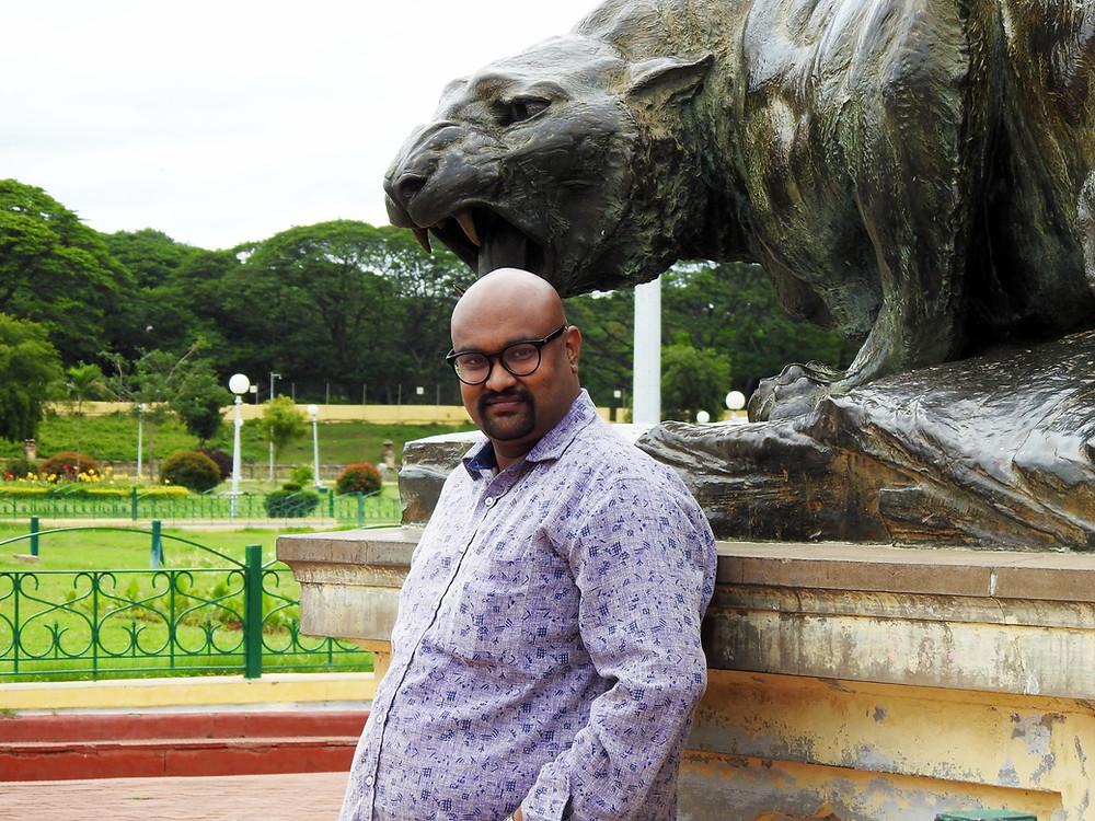 Jayanth Dev aka Guruji Foodie mysore trip