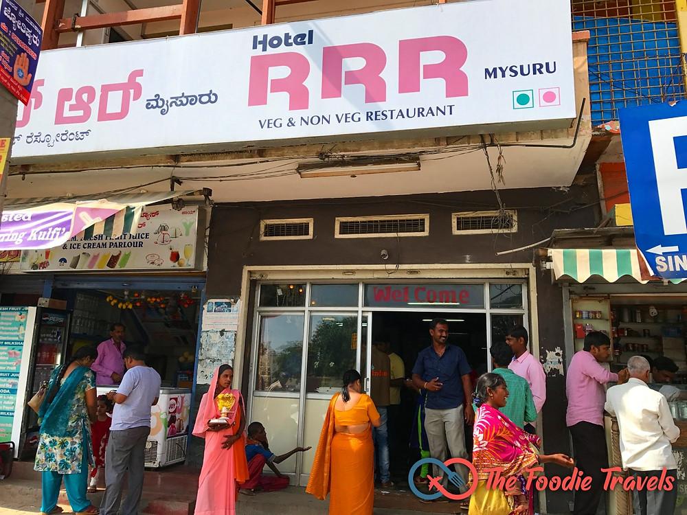 RRR Hotel at Gandhi Square, Mysore