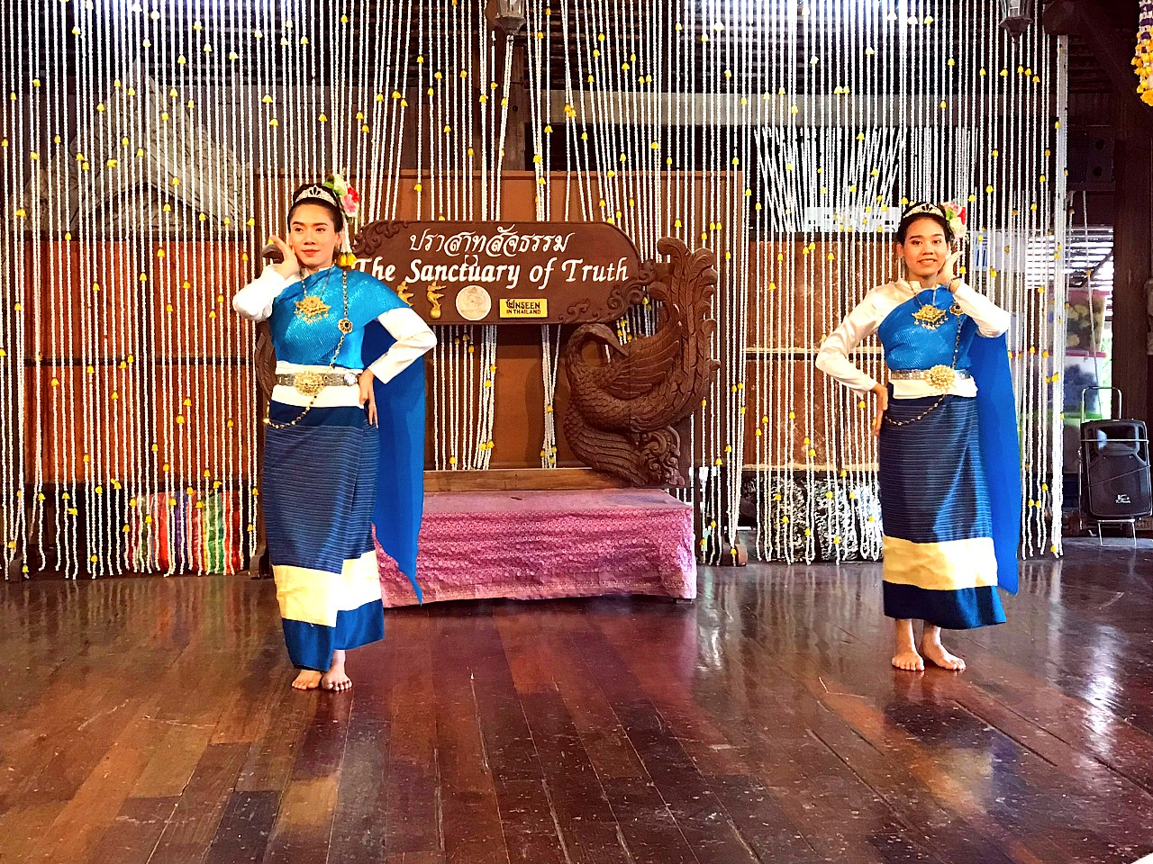 The Sanctuary of truth Thai Traditional Dance
