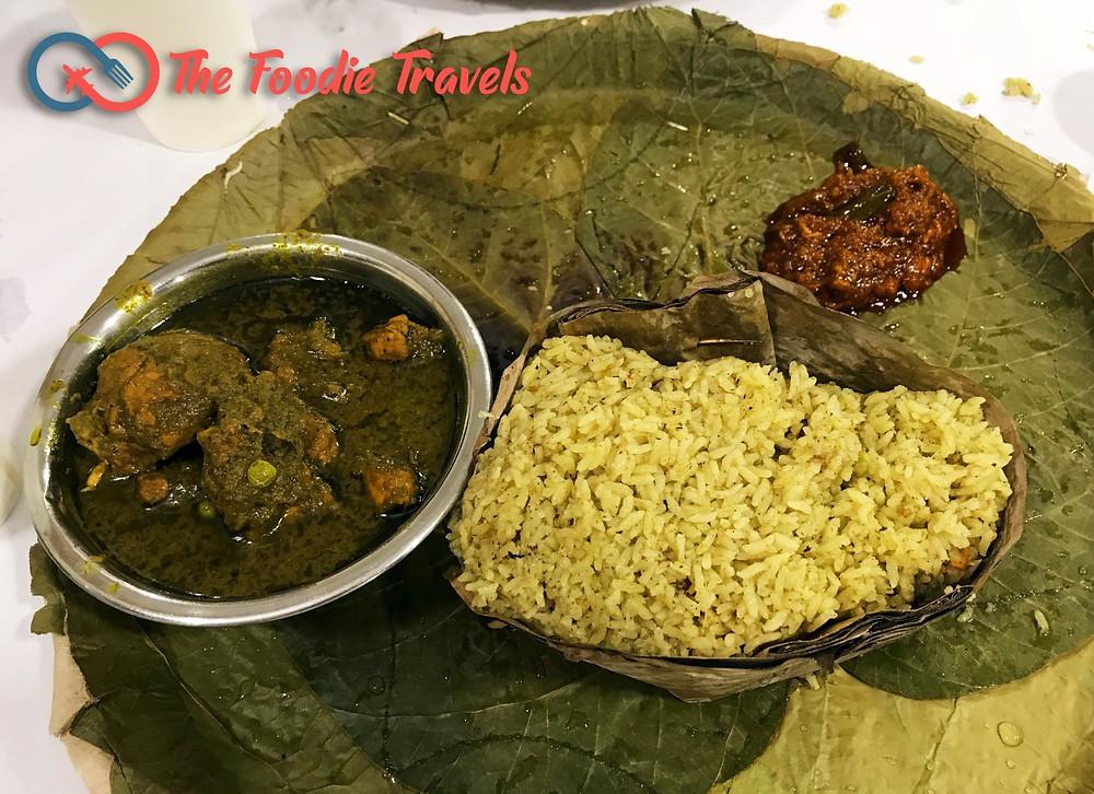 Donne Mutton Pulao Biryani, Shivaji Military Hotel, Jayanagar, Bangalore