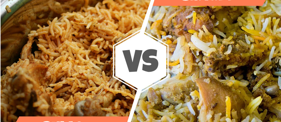 The Difference between Biryani and Pulao