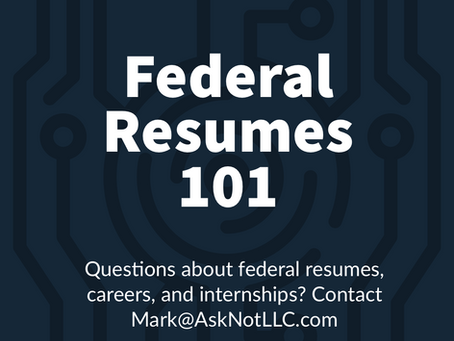 "Answered: What is a ""Federal"" Resume?"