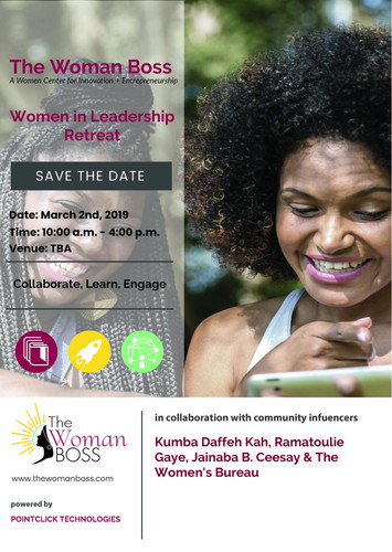 Women in Leadership, March 2019