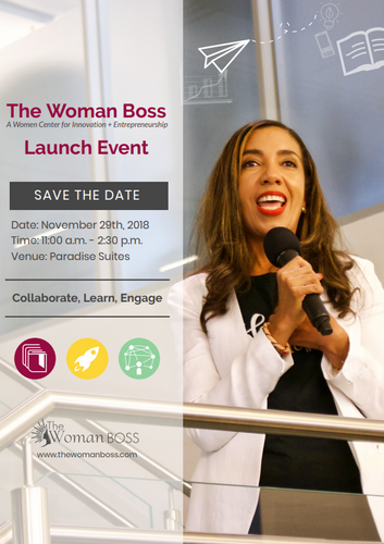 The Woman Boss Launch, November 2019