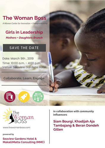 Girls in Leadership, March 2019