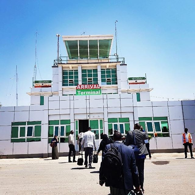The international airport of the unrecognized republic of Somaliland