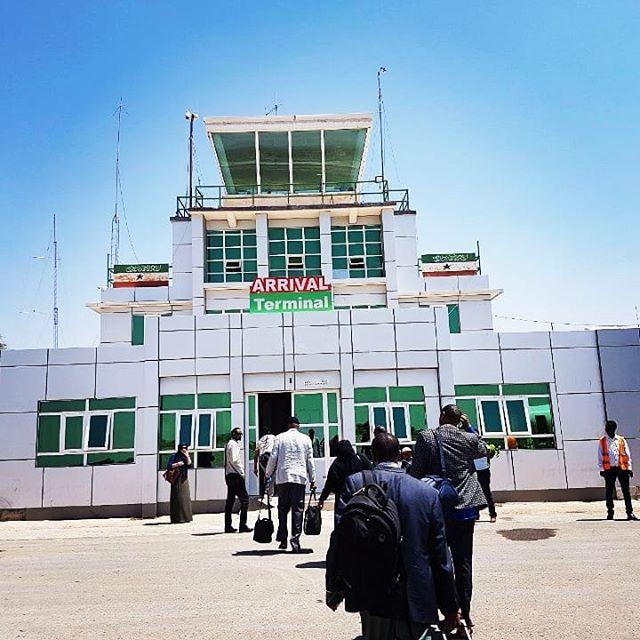 Hargeisa Egal International Airport in Somaliland
