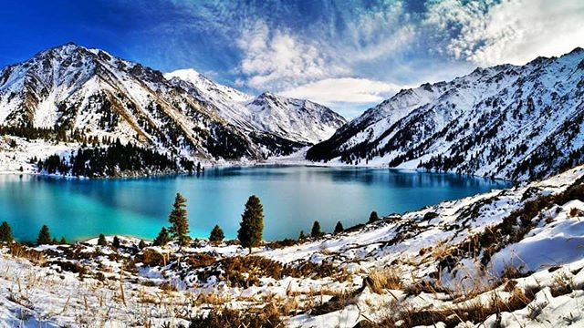 Lake Ritsa in Winter - Abkhazia