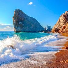 Beach in Crimea