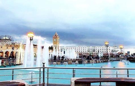 Fountain in Erbil
