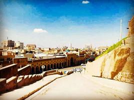 Shops Besite the Erbil Citadel
