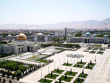 Independence Square, Ashgabat