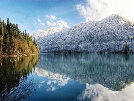 Abkhazia: Lake Ritsa
