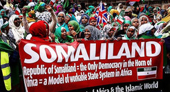 Somaliland Independence Protest