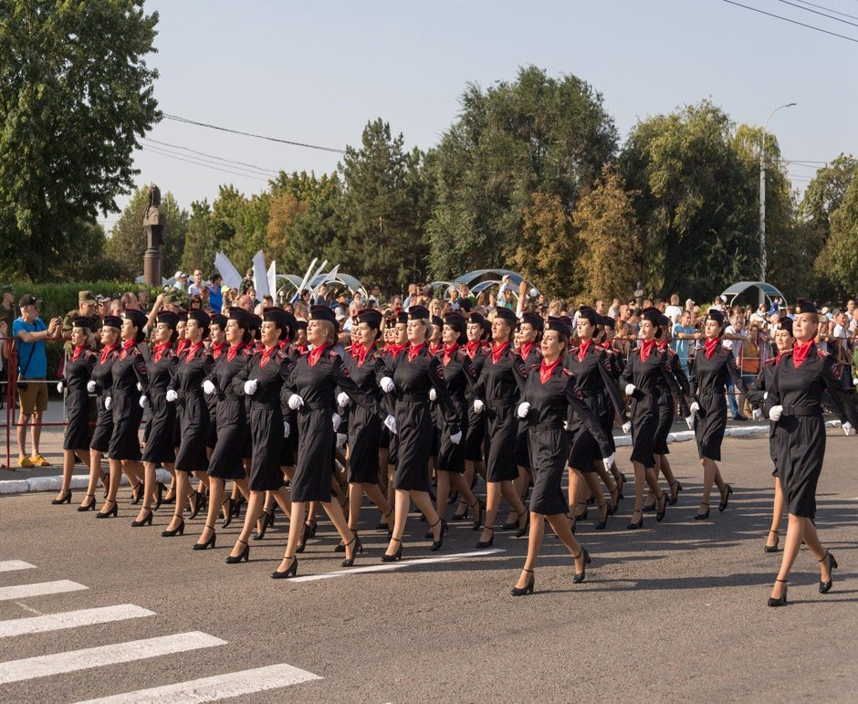 Female Soldiers in Transnistria