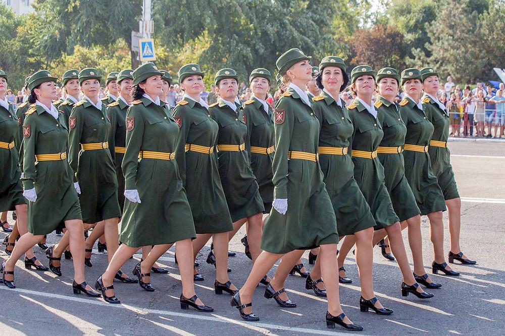 Female Soldiers in Transnistria