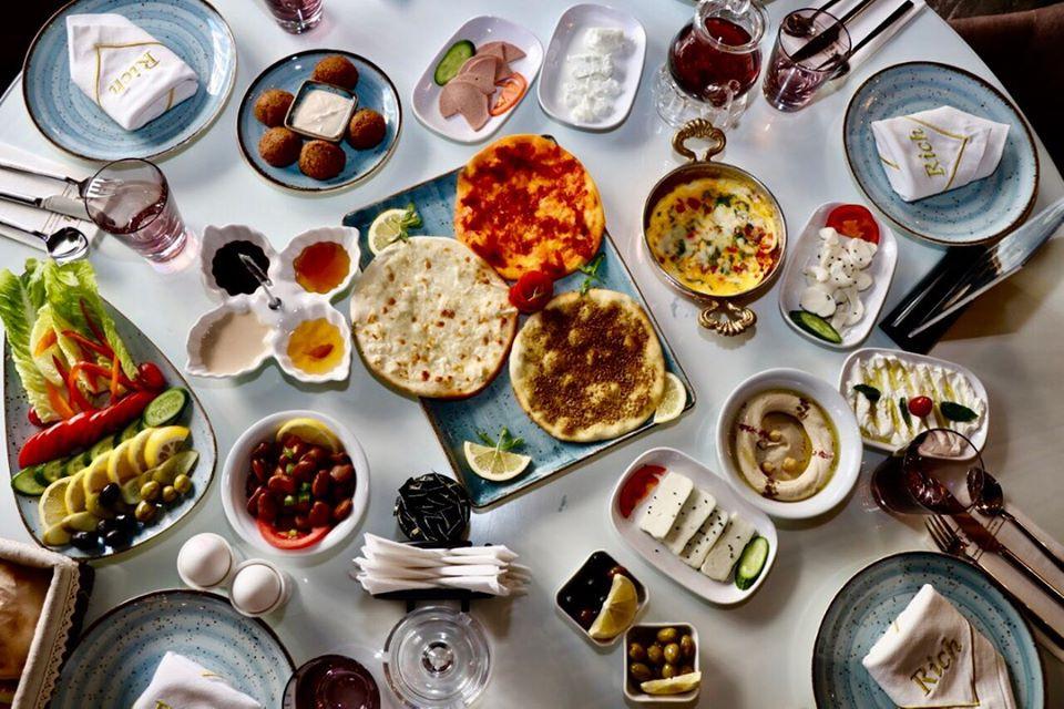 Breakfast in Iraqi Kurdistan