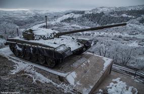 Tank Monument in Artsakh