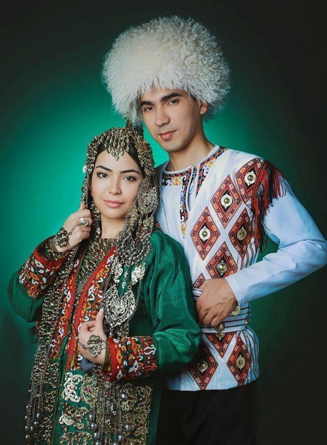 Turkmen Man & Woman