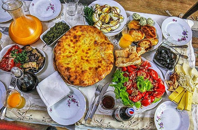 Traditional Ossetian Cuisine in South Ossetia