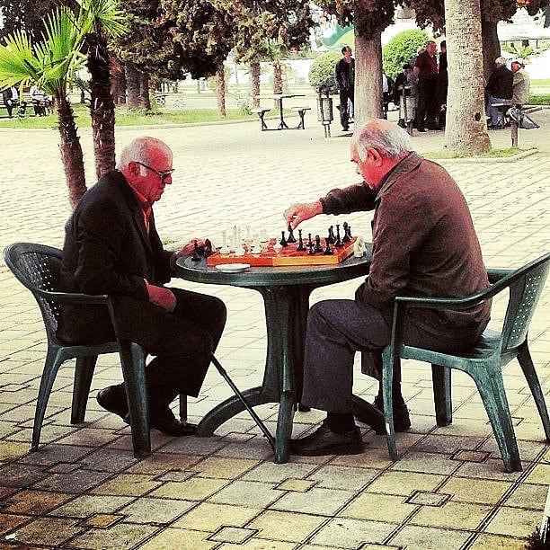 Chess in Sukhum, Abkhazia