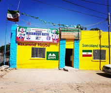 Colorful Building in Somaliland