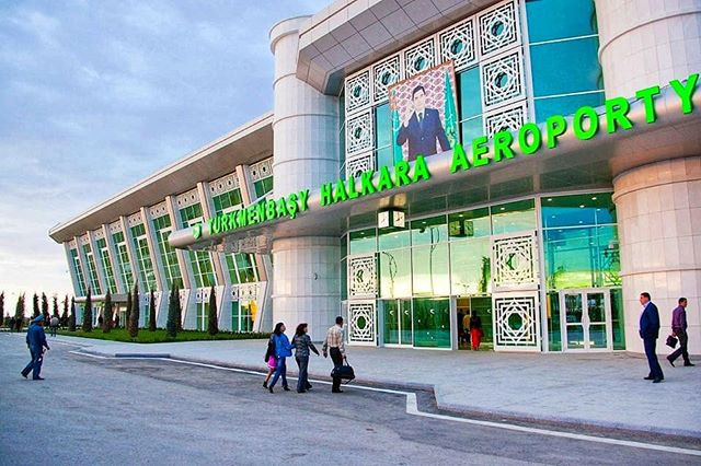 Airport in Turkmenistan