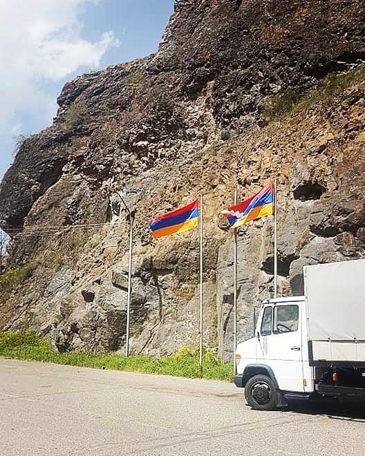 Artsakh - Armenia Border