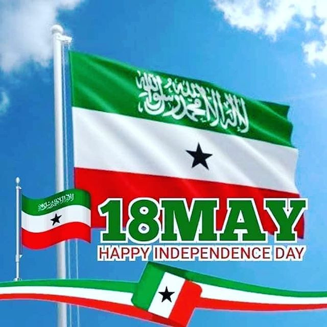 May 18 Somaliland independence day poster