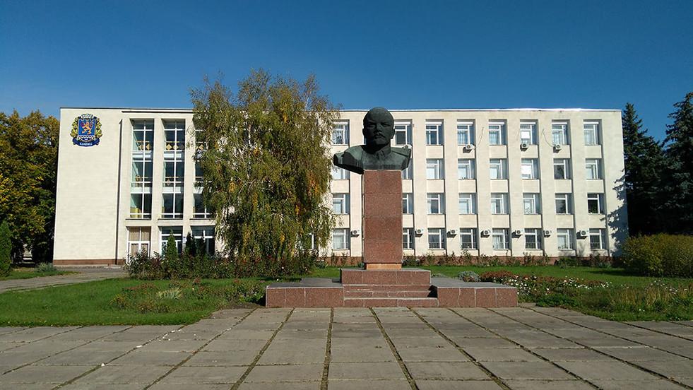 Building with Lenin in Tiraspol