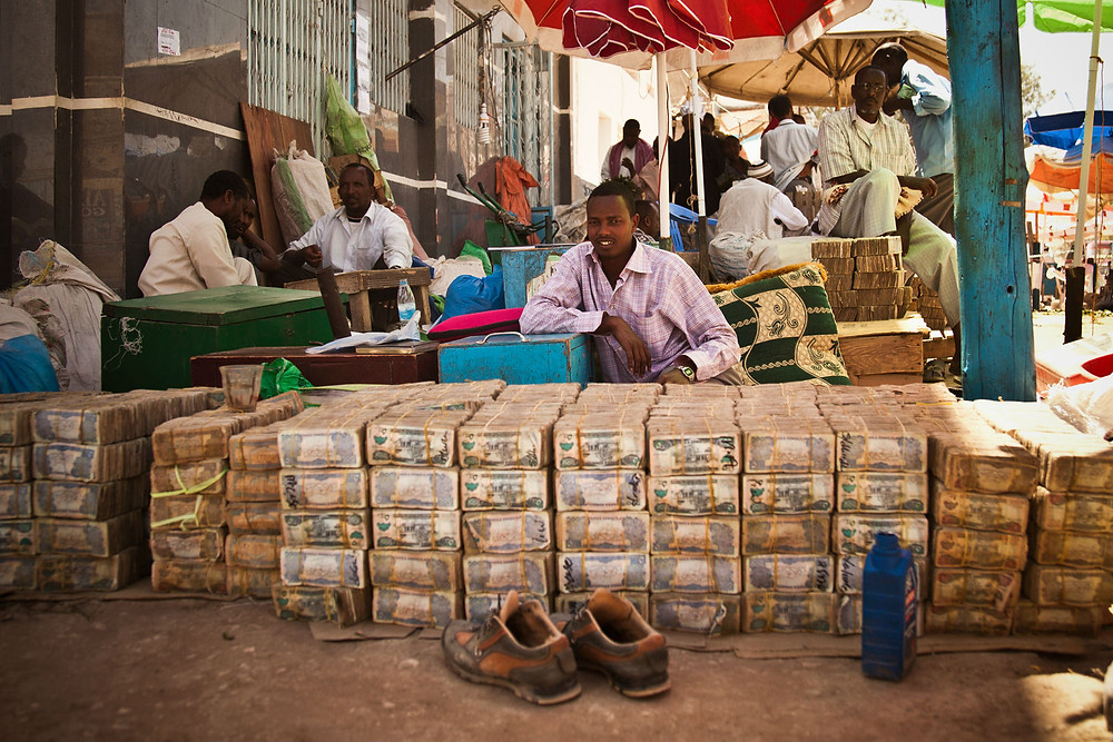 Hargeisa Money Market in Somaliland