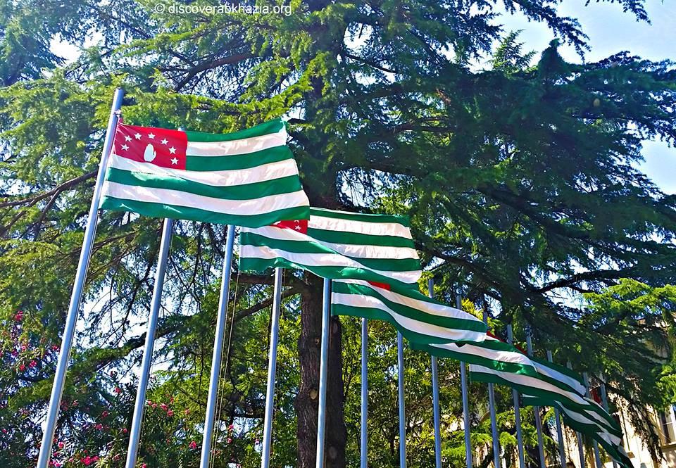 Flags of Abkhazia
