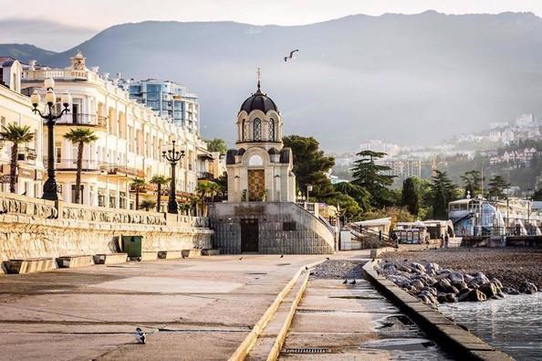 Waterfront in Yalta, Crimea
