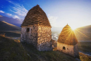 Crypts in North Ossetia
