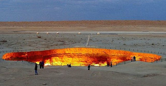 The Gates to Hell in Turkmenistan