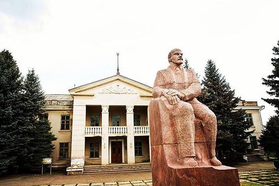 Lenin Statue in Tiraspol
