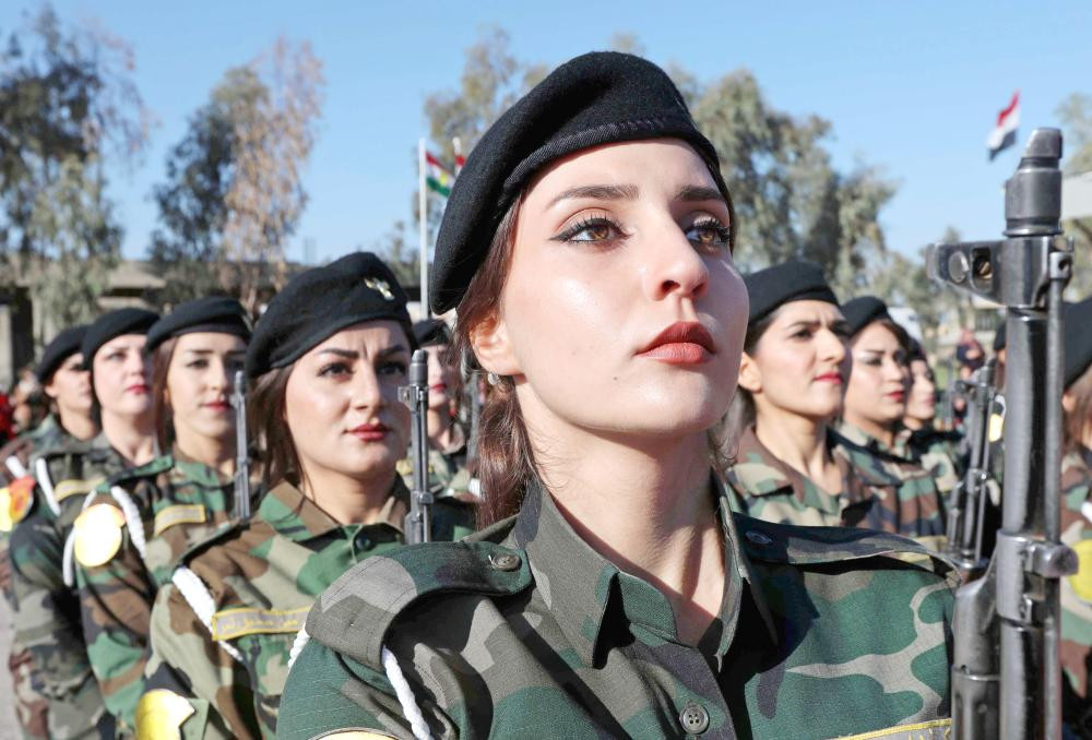 Women of the Peshmerga (Iraqi Kurdistan)