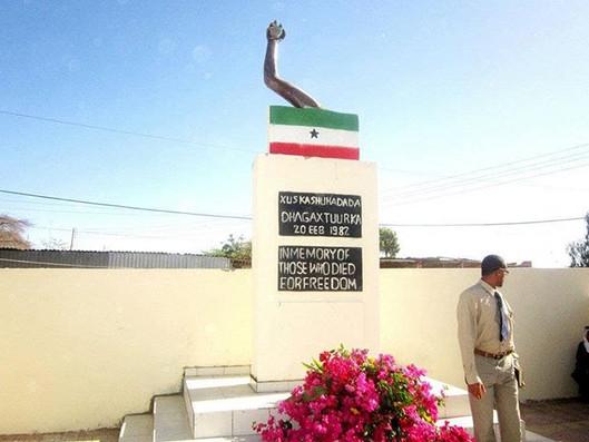 Monument in Hageisa