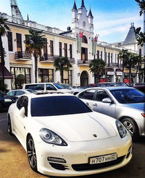 Cars and Shops in Sukhumi
